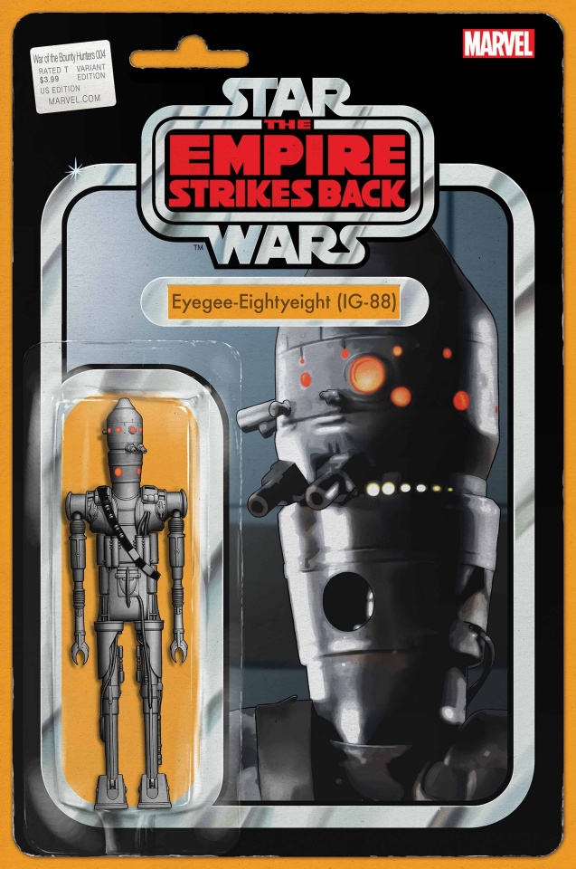 Star Wars: War of the Bounty Hunters #4 (Action Figure Cover)