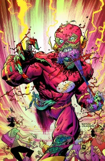 The Flash #35 (Monsters Cover)