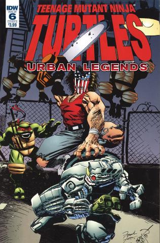 Teenage Mutant Ninja Turtles: Urban Legends #6 (Fosco & Larsen Cover)
