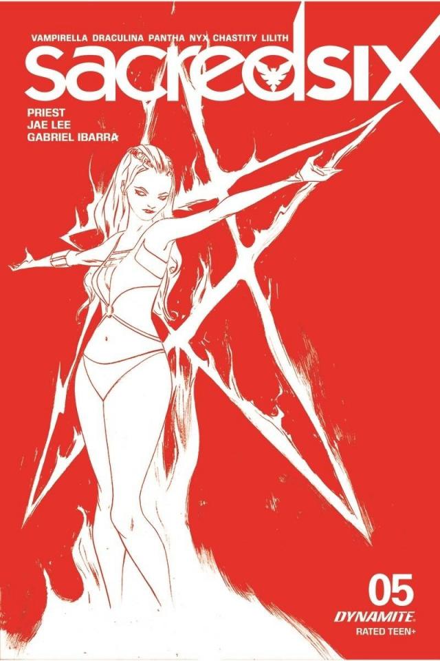 Sacred Six #5 (15 Copy Lee Tint Cover)