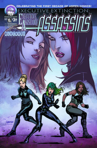 Executive Assistant: Assassins #10 (Gunderson Cover)