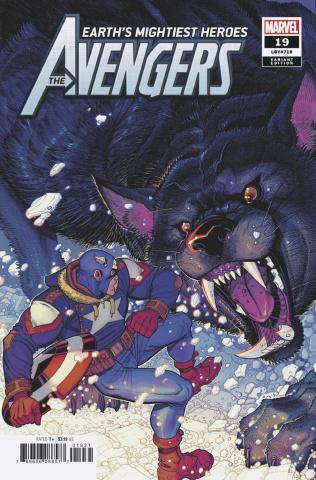 Avengers #19 (Bradshaw Cover)