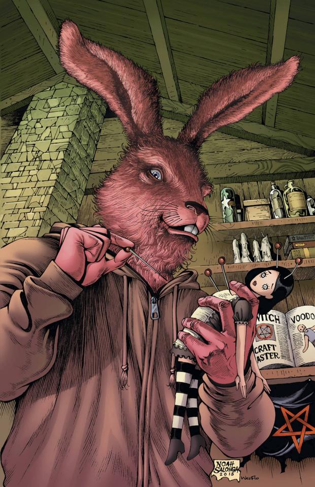 Grimm Fairy Tales: Wonderland #45 (Salonga Cover)