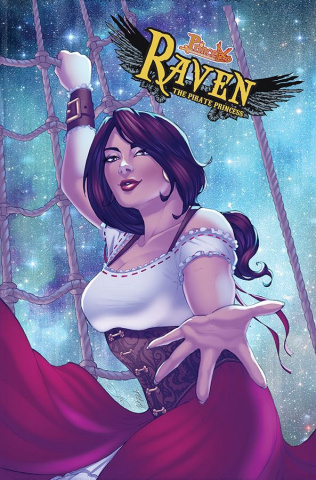 Princeless: Raven, The Pirate Princess - Year 2 #2 (Love and Revenge Cover)