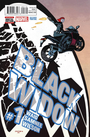 Black Widow #1 (Samnee 2nd Printing)