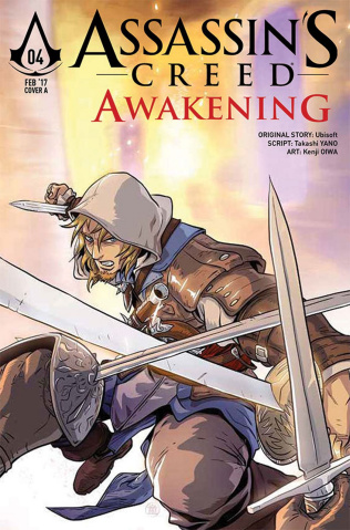 Assassin's Creed: Awakening #4 (Tong Cover)