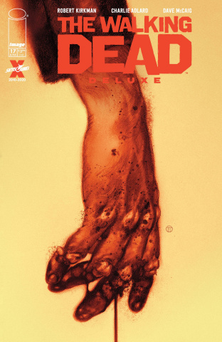 The Walking Dead Deluxe #17 (Tedesco Cover)