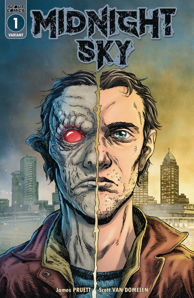 Midnight Sky #1 (Vince Locke Cover)