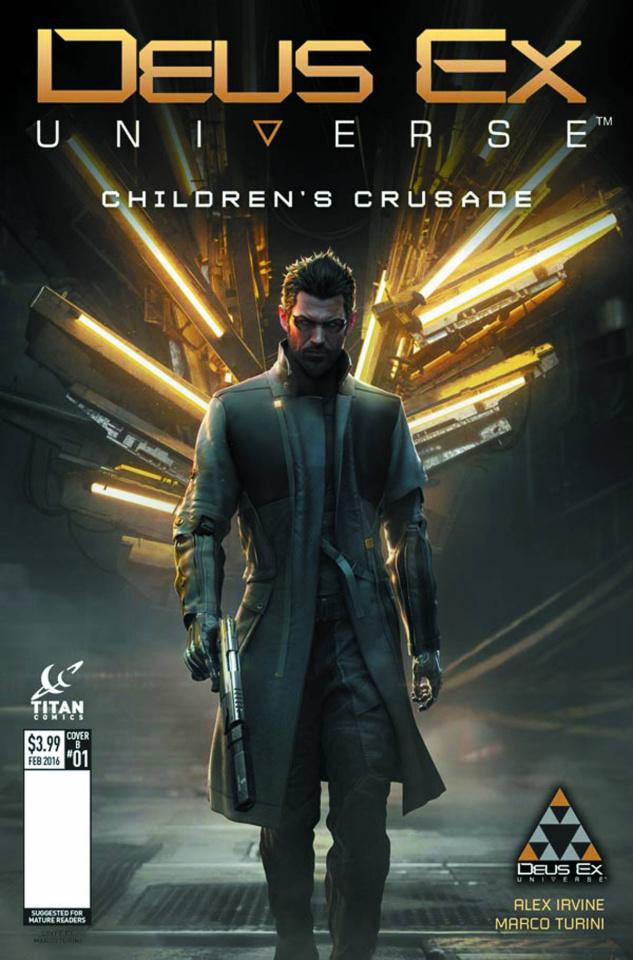 Deus Ex #1 (Game Cover Cover)