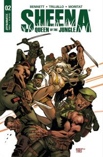 Sheena #2 (Moritat Cover)