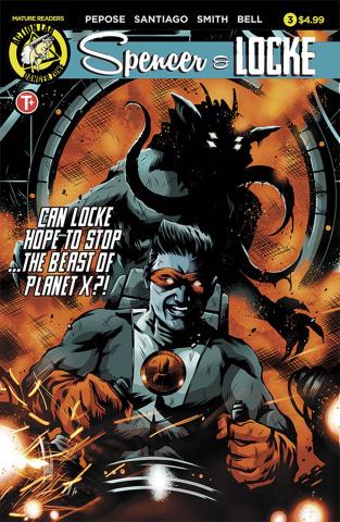 Spencer & Locke #3 (House Cover)
