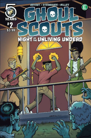 Ghoul Scouts: Night of the Unliving Undead #2 (Stegbauer Cover)