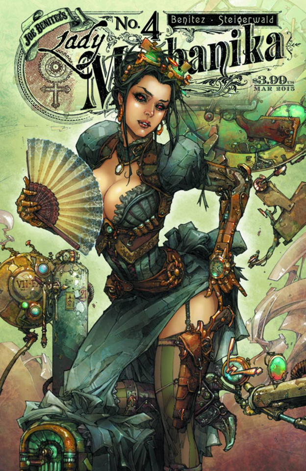 Lady Mechanika #4 (10 Copy Benitez Cover)