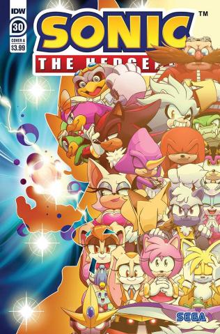 Sonic the Hedgehog #30 (Thomas Cover)