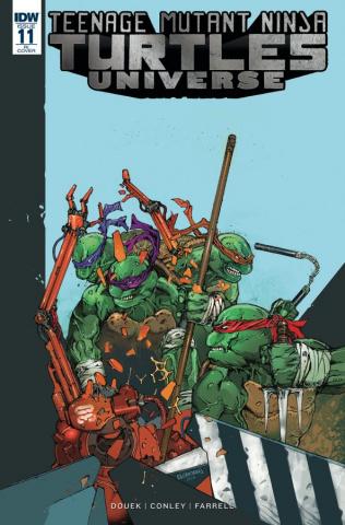 Teenage Mutant Ninja Turtles Universe #11 (10 Copy Cover)