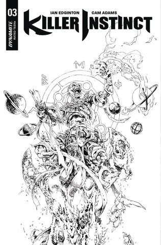 Killer Instinct #3 (10 Copy Lau B&W Cover)