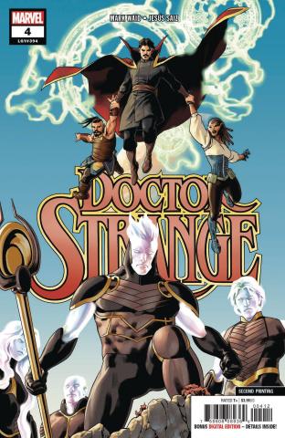 Doctor Strange #4 (Saiz 2nd Printing)