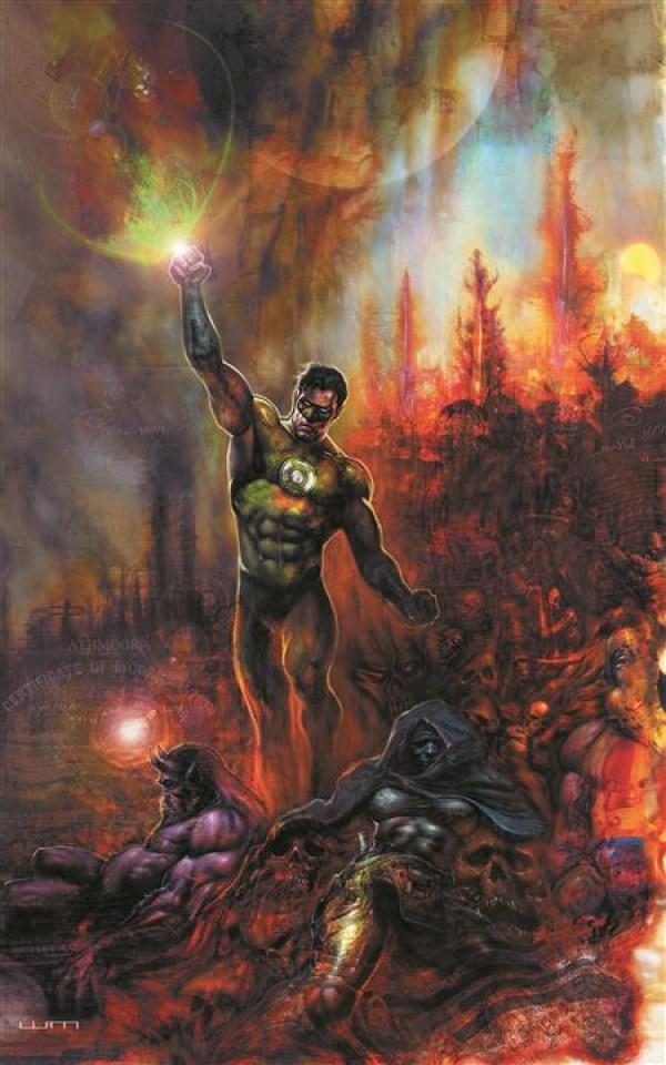 Green Lantern, Season 2 #12 (Liam Sharp Cover)