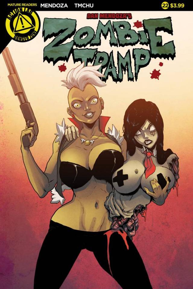 Zombie Tramp #22 (TMChu Cover)