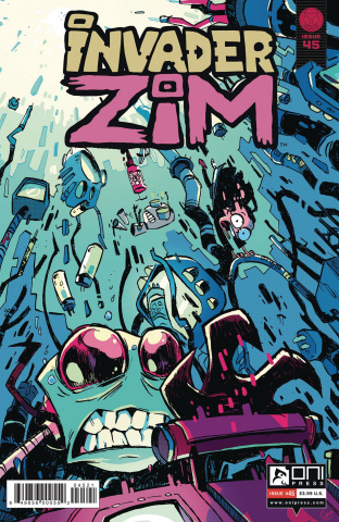 Invader Zim #45 (Cab Cover)
