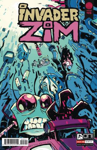 Invader Zim #45 (Cab Cover)