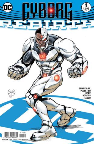 Cyborg: Rebirth #1 (Variant Cover)