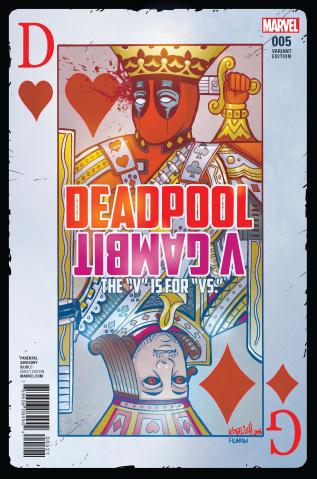 Deadpool vs. Gambit #5 (Koblish Cover)