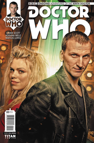 Doctor Who: New Adventures with the Ninth Doctor #2 (Photo Cover)