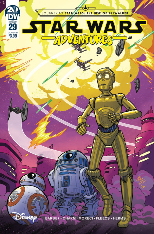 Star Wars Adventures #29 (Fleecs Cover)