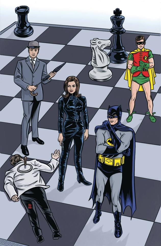 Batman '66 Meets Steed and Mrs. Peel #1