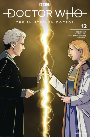 Doctor Who: The Thirteenth Doctor #12 (12th Doctor Cover)