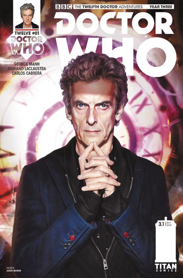 Doctor Who: New Adventures with the Twelfth Doctor, Year Three #1 (Burns Cover)