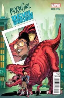 Moon Girl and Devil Dinosaur #1 (Von Eeden Cover)