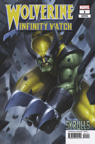 Wolverine: Infinity Watch #1 (Jee Hyung Lee Skrulls Cover)