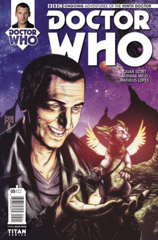 Doctor Who: New Adventures with the Ninth Doctor #5 (Shedd Cover)