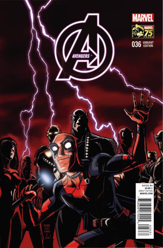 Avengers #36 (Deadpool Cover)