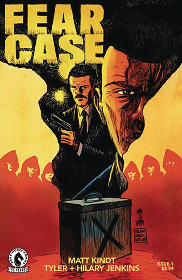 Fear Case #1 (Francavilla Cover)