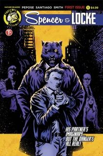 Spencer & Locke #1 (House Cover)