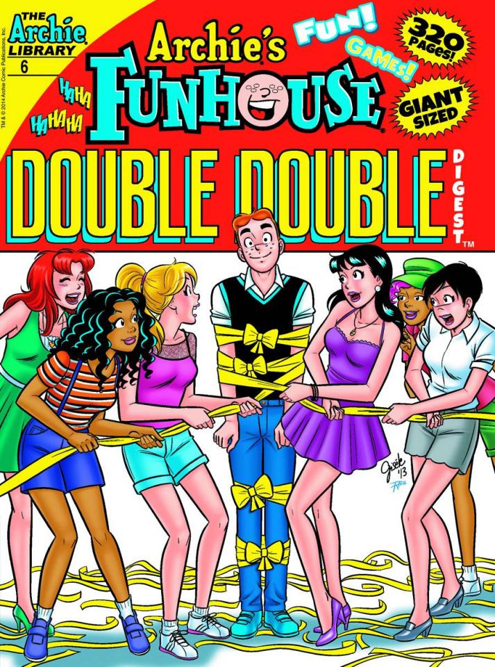Archie's Funhouse Comics Double Double Digest #6