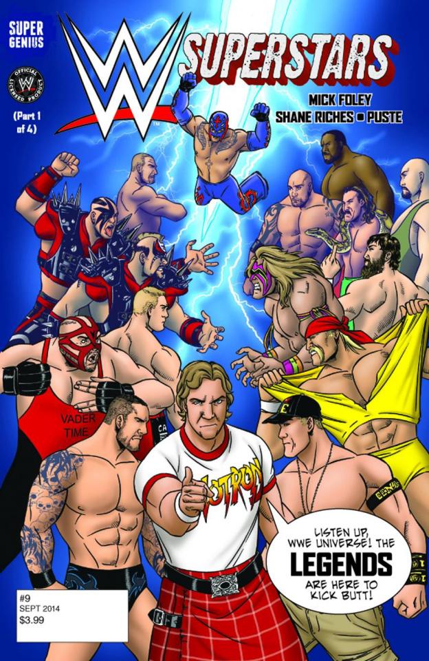 WWE Superstars #9