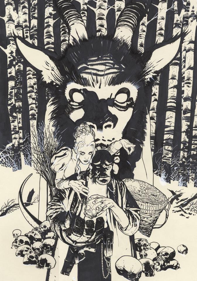 Hellboy: Krampusnacht #1 (Hughes Sketch Cover)