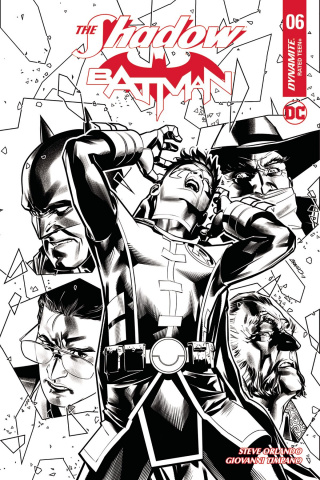 The Shadow / Batman #6 (20 Copy Peterson B&W Cover)