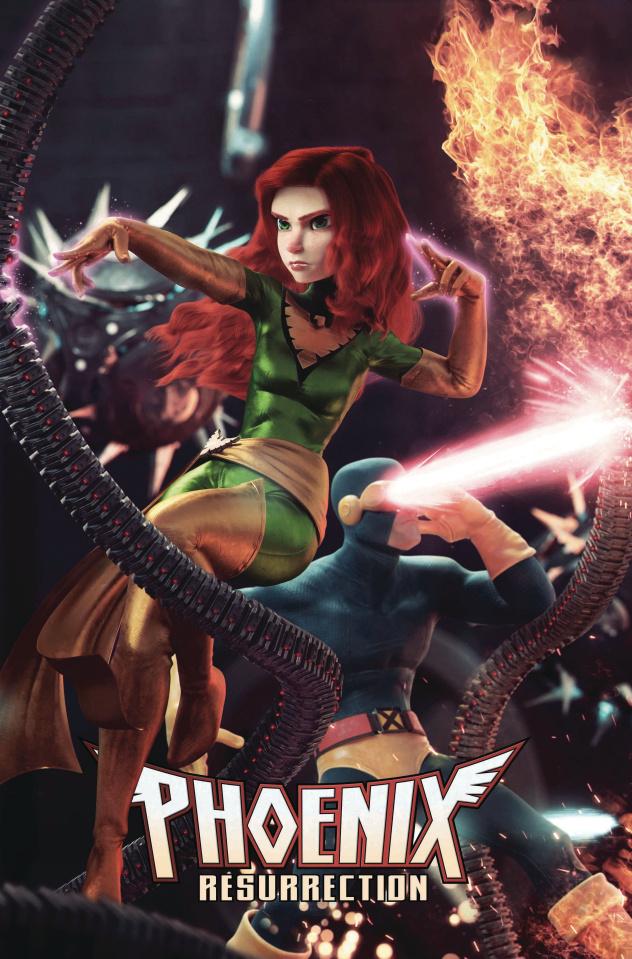 Phoenix Resurrection: The Return of Jean Grey #4 (Hugo Connect Cover)