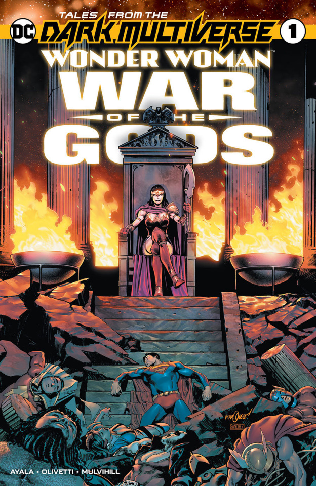 Tales From the Dark Multiverse: Wonder Woman - War of the Gods #1