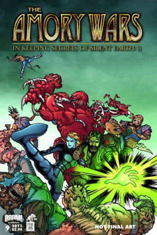 The Amory Wars: In Keeping Secrets of Silent Earth 3 #9