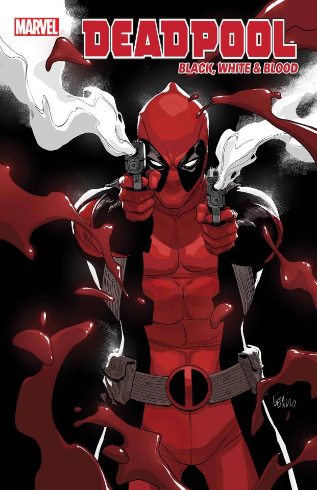 Deadpool: Black, White & Blood #2 (Yu Cover)