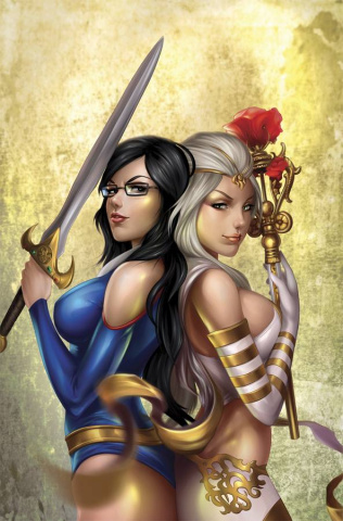 Grimm Fairy Tales vs. Wonderland