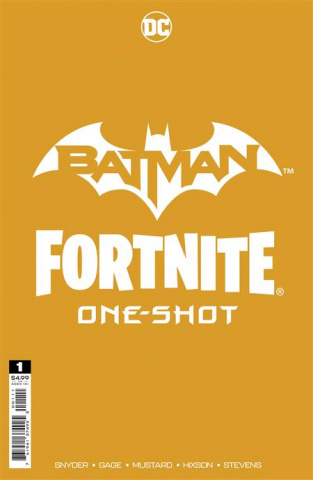 Batman / Fortnite: Foundation #1 (Greg Capullo & Jonathan Glapion Cover)
