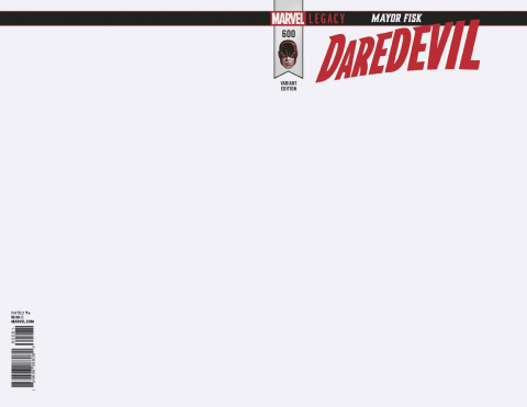 Daredevil #600 (Blank Cover)