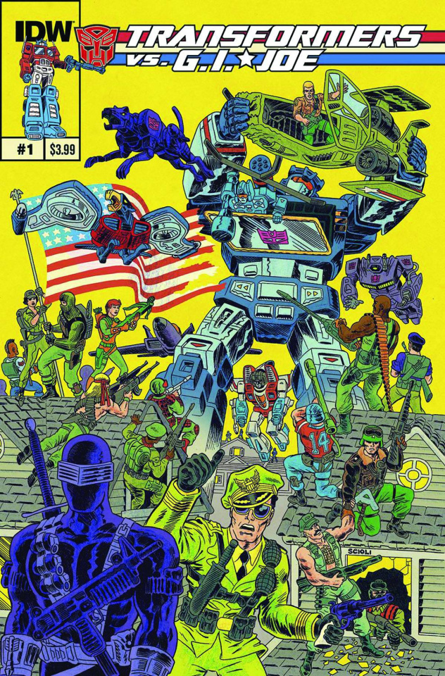 Transformers vs. G.I. Joe #1 (2nd Printing)